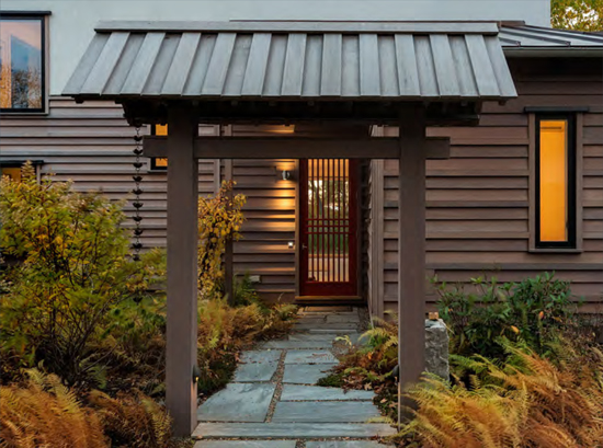 Japanese House by Cold Mountain Builders
